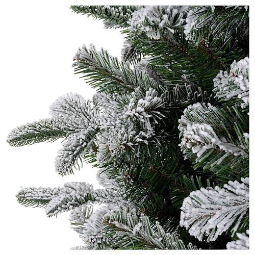 Árbol de Navidad 270 cm modelo Poly Everest copos nieve 4