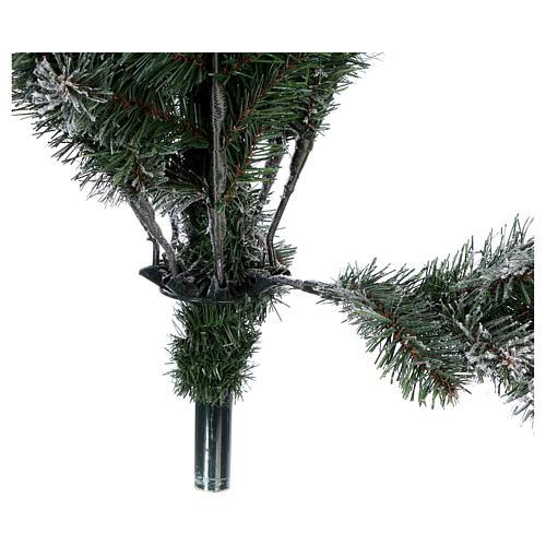 Árbol de Navidad 270 cm modelo Poly Everest copos nieve 5