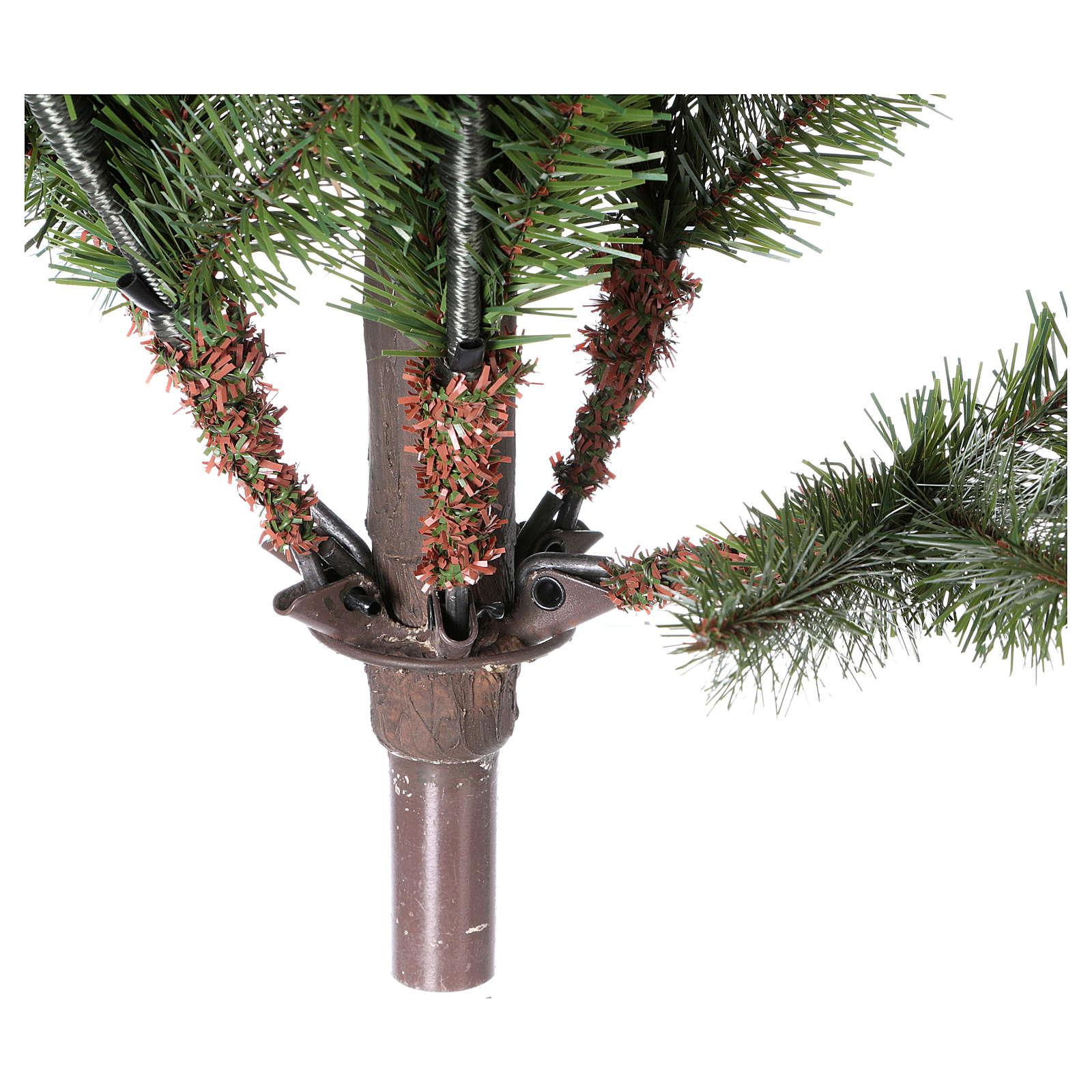 Albero di Natale 210 cm verde Princetown Poly 3