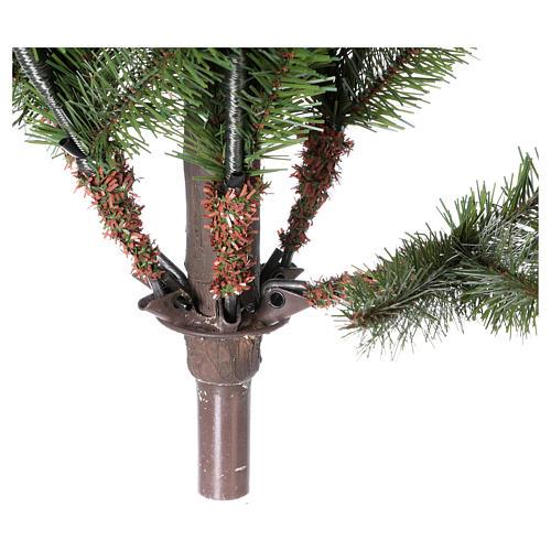 Árvore de Natal 210 cm Verde Princetown Poly 5