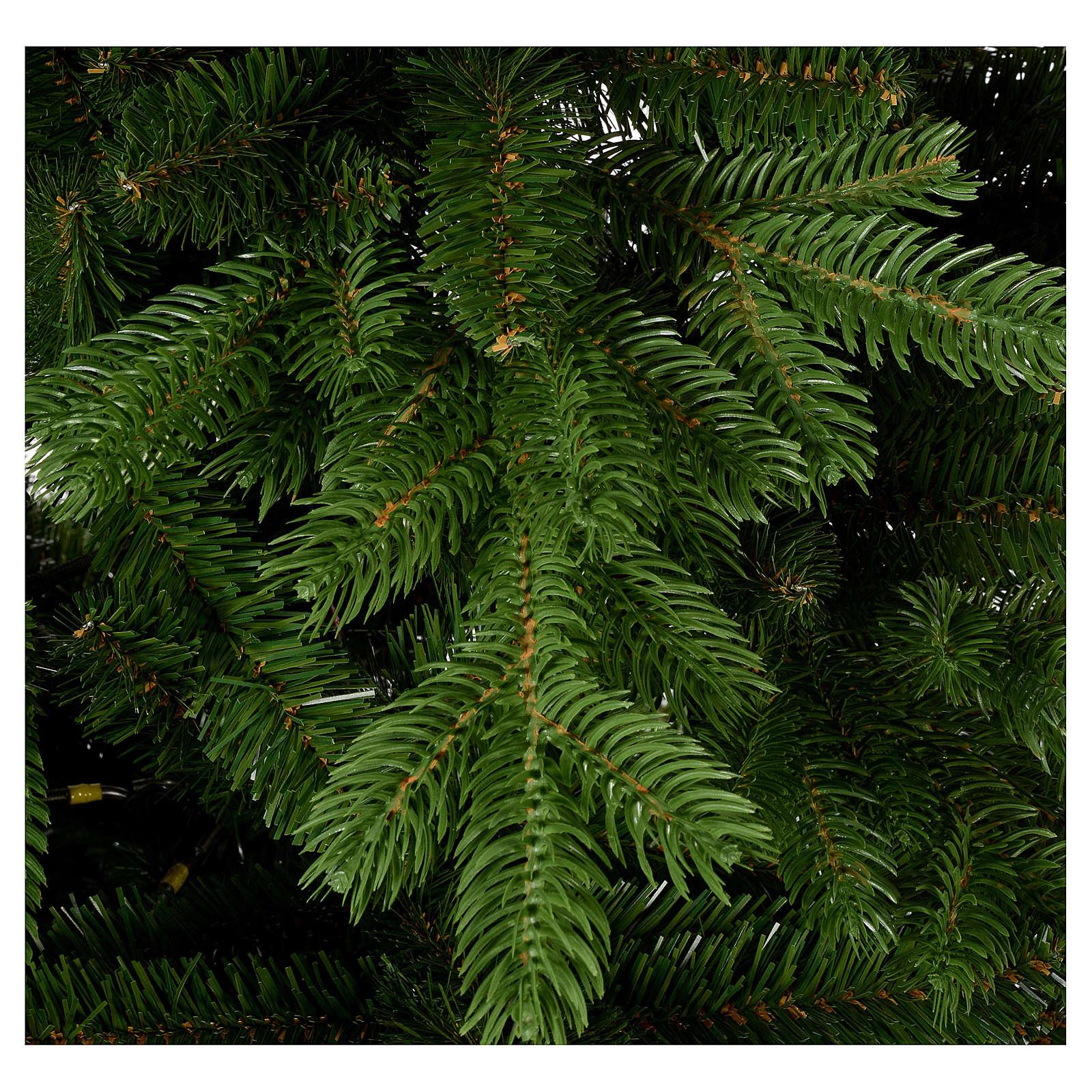 Árbol de Navidad 225 cm verde Poly Princetown 3