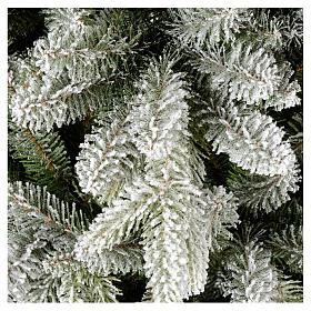Árbol de Navidad 210 cm copos de nieve modelo Snowy Sierra s2