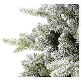 Árbol de Navidad 210 cm copos de nieve modelo Snowy Sierra s3