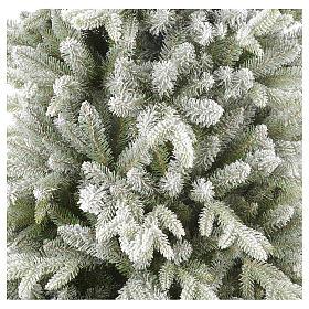Árbol de Navidad 210 cm copos de nieve modelo Snowy Sierra s4