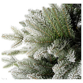 Árbol de Navidad 210 cm copos de nieve modelo Snowy Sierra s5