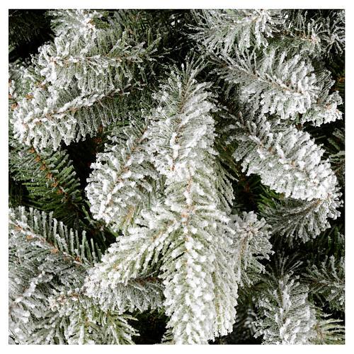 Árbol de Navidad 210 cm copos de nieve modelo Snowy Sierra 2