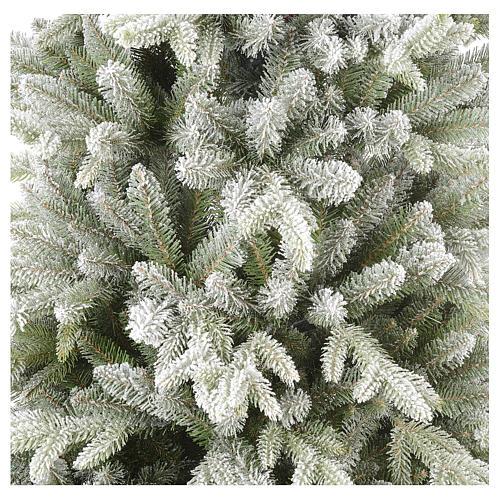 Árbol de Navidad 210 cm copos de nieve modelo Snowy Sierra 4