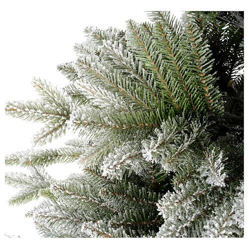 Árbol de Navidad 210 cm copos de nieve modelo Snowy Sierra 5