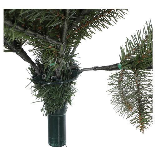 Árbol de Navidad 210 cm copos de nieve modelo Snowy Sierra 6