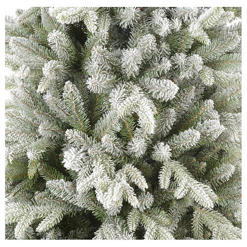 Sapin de Noël 210 cm Poly enneigé Snowy Sierra 4