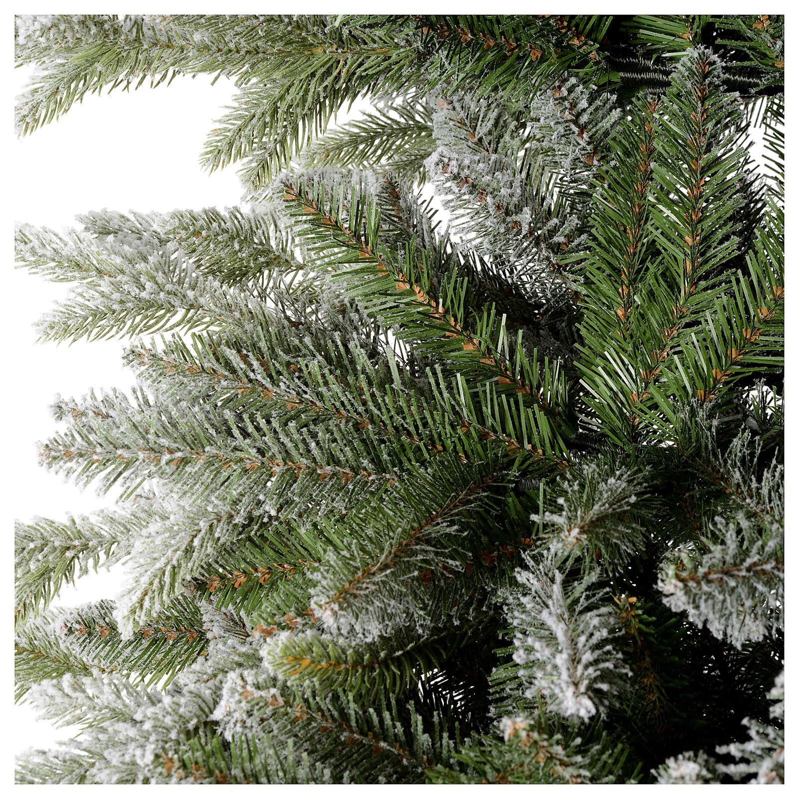 Christmas Tree Feel Real 225 Cm, Flocked Snowy S 3