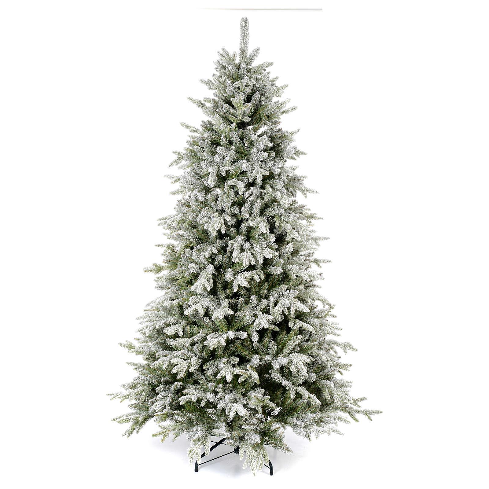 Albero di Natale 225 cm floccato Poly Snowy Sierra 3