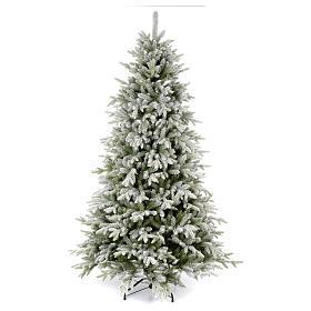 Albero di Natale 225 cm floccato Poly Snowy Sierra s1