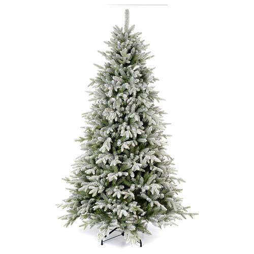 Albero di Natale 225 cm floccato Poly Snowy Sierra 1