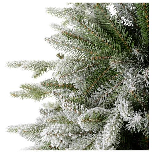Albero di Natale 225 cm floccato Poly Snowy Sierra 4