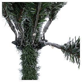 Árbol de Navidad 180 cm copos de neve Poly Everest s5