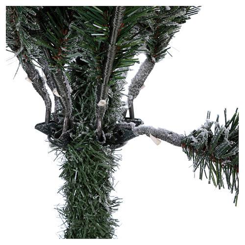 Árbol de Navidad 180 cm copos de neve Poly Everest 5