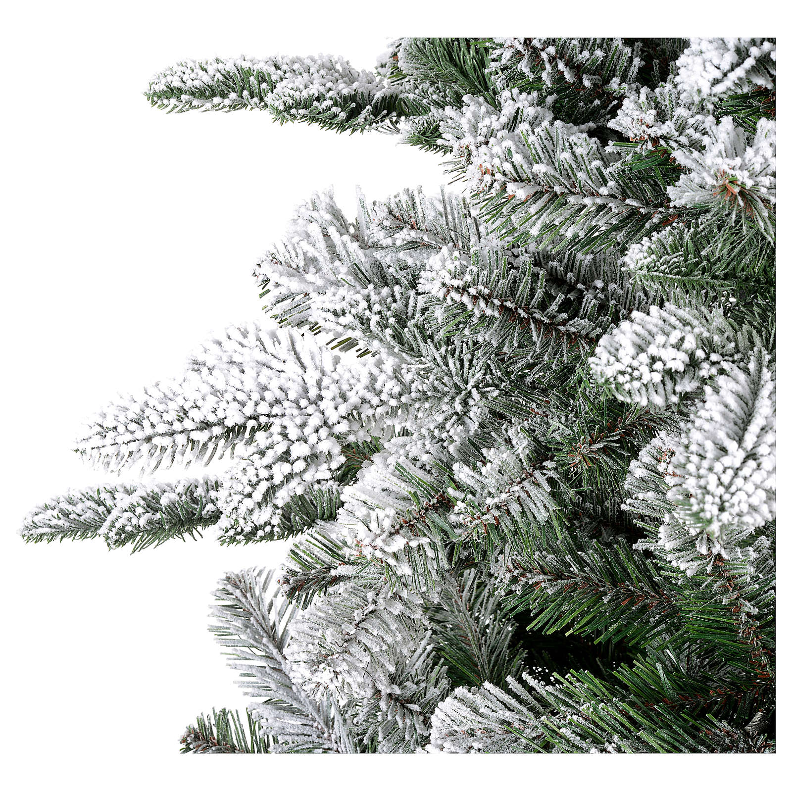 Albero di Natale 180 cm floccato Poly Everest 3