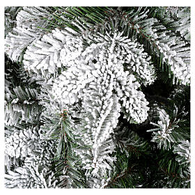 Albero di Natale 180 cm floccato Poly Everest s2