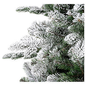 Albero di Natale 180 cm floccato Poly Everest s3