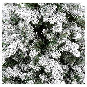 Sapin de Noël 210 cm Poly enneigé Everest s4