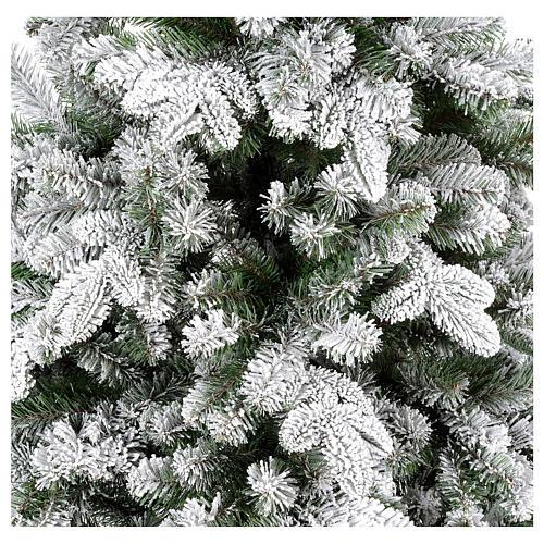 Sapin de Noël 210 cm Poly enneigé Everest 4