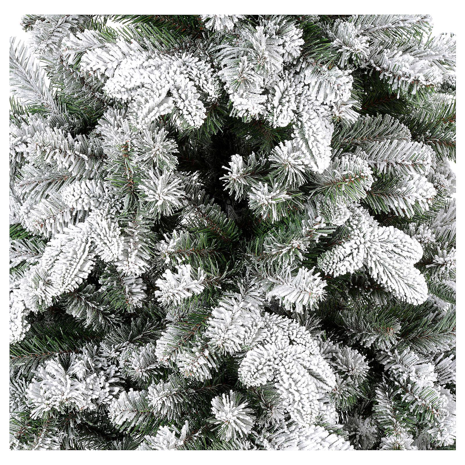 Albero di Natale 210 cm Poly floccato Everest 3