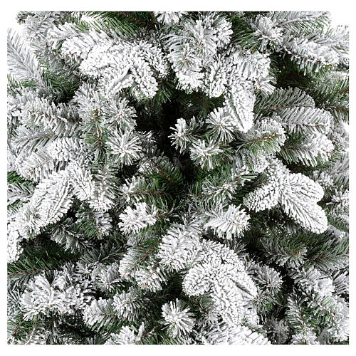 Albero di Natale 210 cm Poly floccato Everest 4
