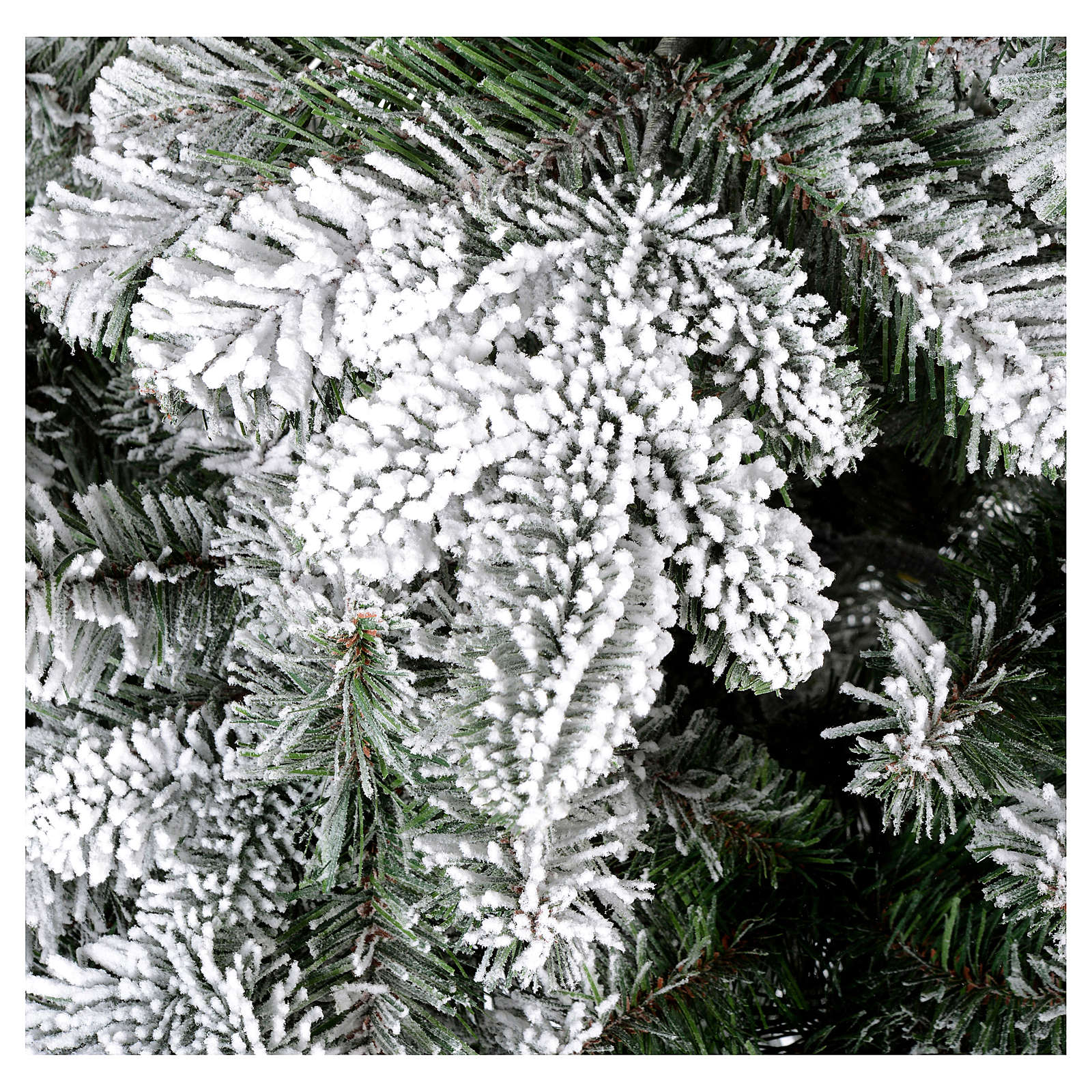 Árvore de Natal 210 cm Poly nevado Everest 3