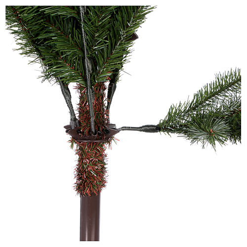 Albero di Natale 225 cm Poly Feel-Real verde Absury Spruce 5