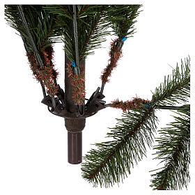 Albero di Natale 180 cm pvc verde pigne Woodland Carolina s6