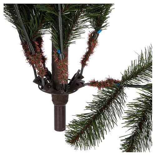 Albero di Natale 180 cm pvc verde pigne Woodland Carolina 6