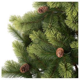 Sapin de Noël 210 cm vert pommes de pin Woodland Carolina s2