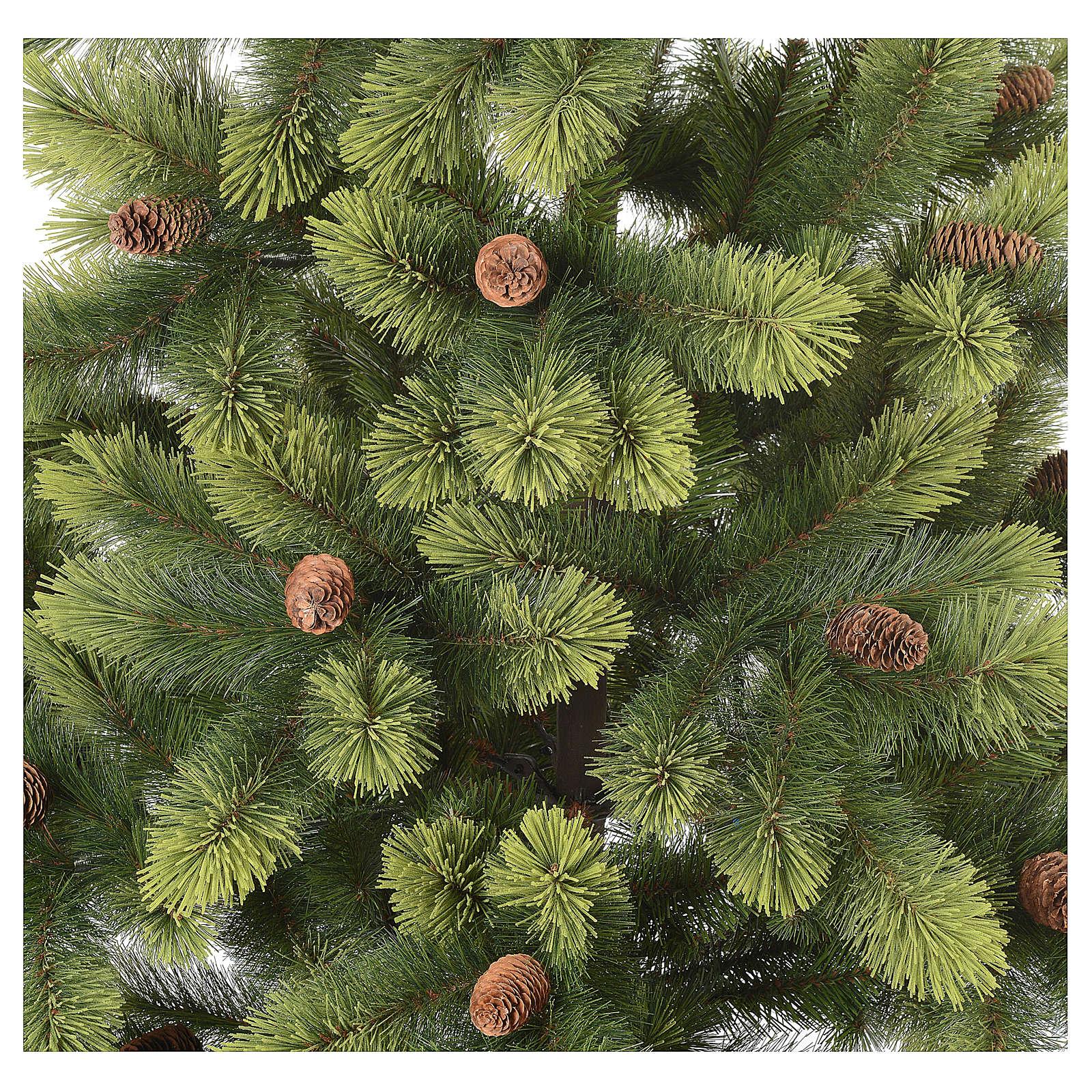 Albero Di Natale 210.Albero Di Natale 210 Cm Verde Pigne Woodland Carolina Vendita Online Su Holyart