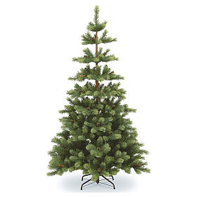 Albero di Natale 210 cm verde pigne Woodland Carolina s1