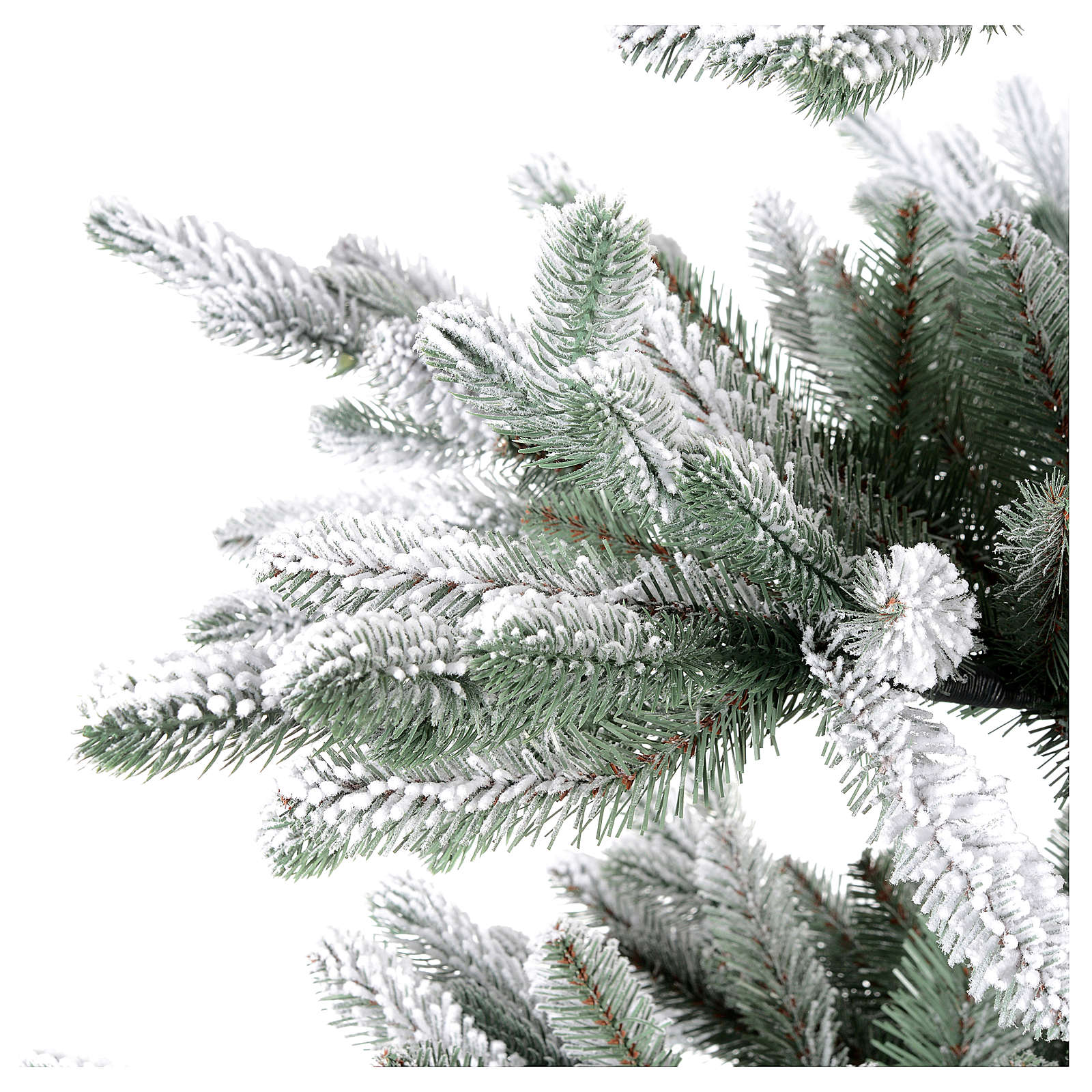 Árbol de Navidad 210 cm Poly copos de neve Imperial Azul 3