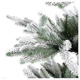 Árbol de Navidad 210 cm Poly copos de neve Imperial Azul s4