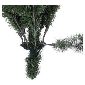 Árbol de Navidad 210 cm Poly copos de neve Imperial Azul s5
