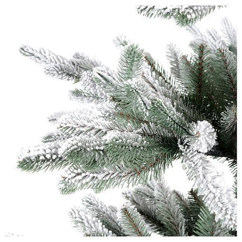 Árbol de Navidad 210 cm Poly copos de neve Imperial Azul 4