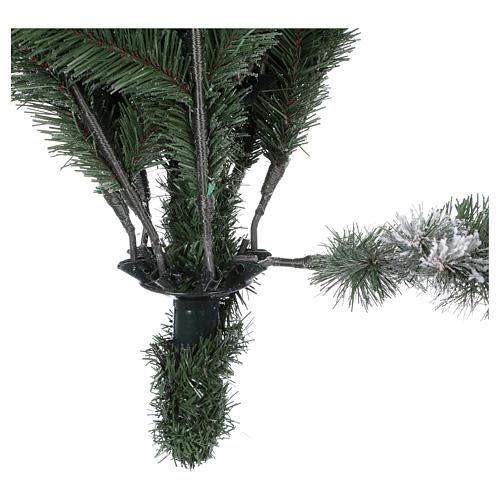 Árbol de Navidad 210 cm Poly copos de neve Imperial Azul 5