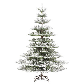 Albero di Natale 210 cm Poly floccato Imperial Blu s1
