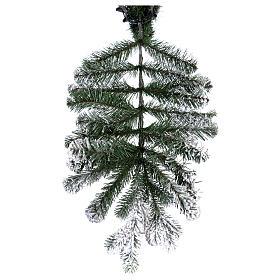 Albero di Natale 210 cm Poly floccato Imperial Blu s6