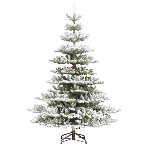 Albero di Natale 210 cm Poly floccato Imperial Blu 1