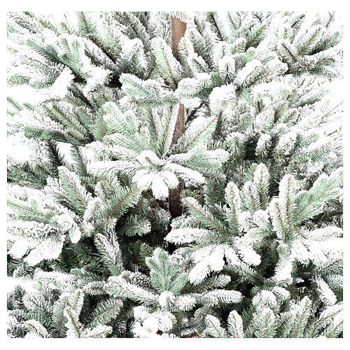 Albero di Natale 210 cm Poly floccato Imperial Blu 3