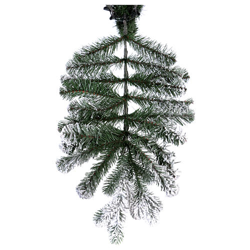 Albero di Natale 210 cm Poly floccato Imperial Blu 6