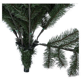 Grüner Weihnachstbaum mit Schnee und Glitter 210cm Mod. Sheffield s6