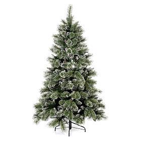 Albero di Natale 180 cm verde pigne Glittery Bristle s1