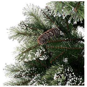 Albero di Natale 180 cm verde pigne Glittery Bristle s5