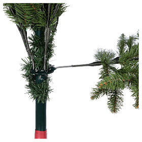 Albero di Natale 210 cm Poly colore verde Bloomfield Fir s5
