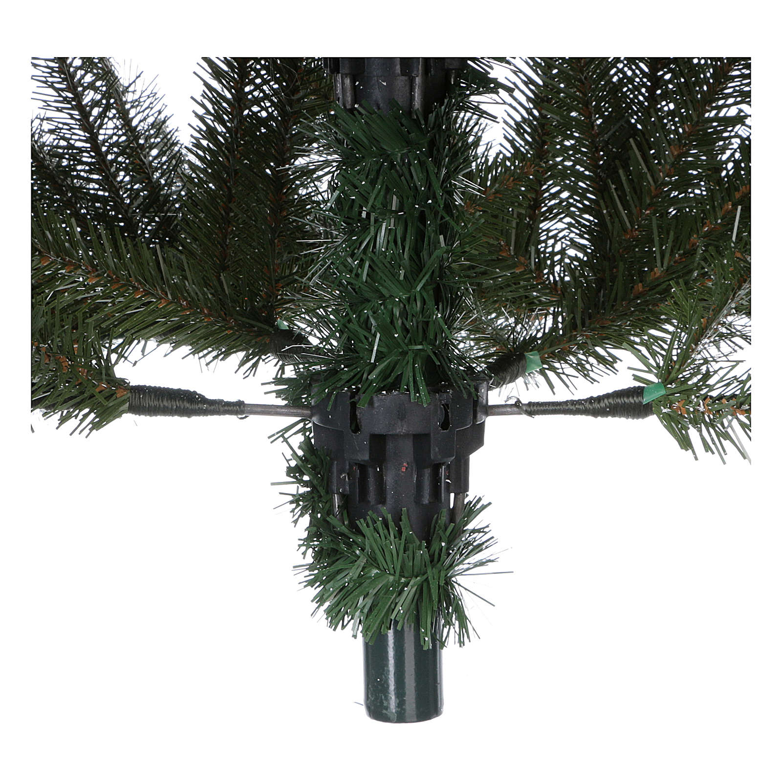 Árbol de Navidad 210 cm Slim verde modelo Alexander 3